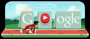 مسابقه دو در لوگوی گوگل