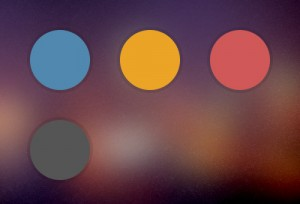 رنگ های طراحی قالب اپ پلاس
